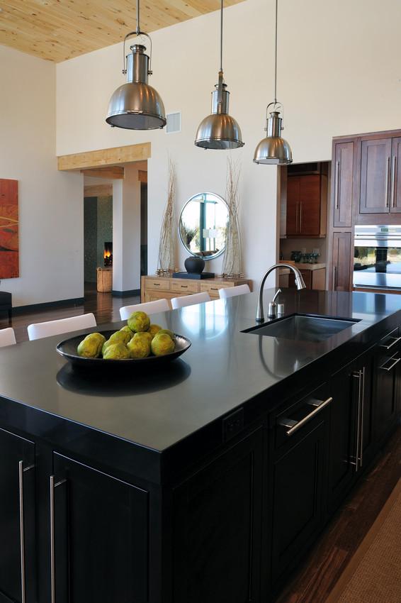 comptoir cuisine quartz noir : comptoir cuisine quartz silestone noka ...