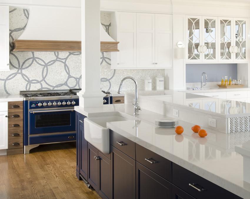 comptoir quartz silestone blanc marbre cuisine bleu.jpg