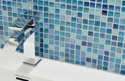 céramique laval bleu bain