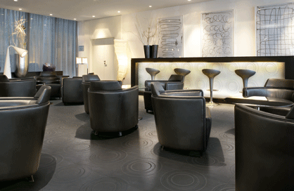 céramique rosemère noir plancher restaurant