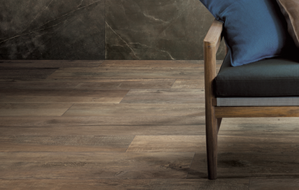 céramique laurentides brun plancher