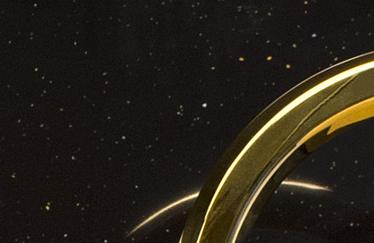 céramique laurentides or dorée