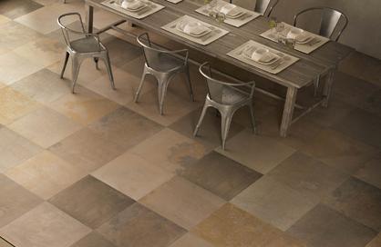 céramique 24x24 laval beige brun