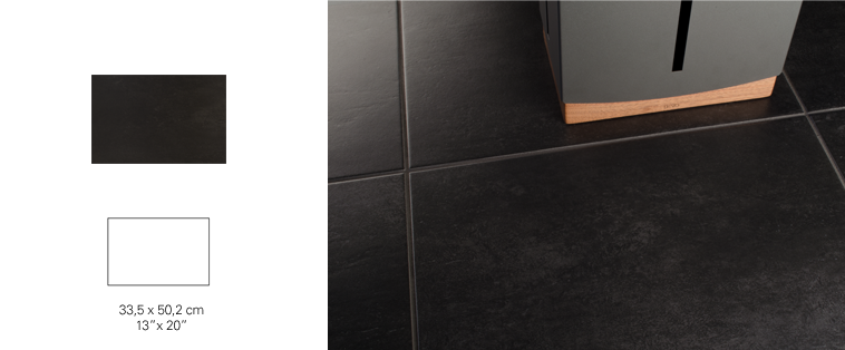 tile shower black ceramic soligo laval blainville rosemere montreal