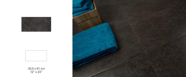 douche en céramique grise foncé laval