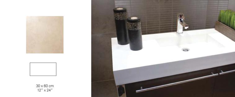 douche en céramique moka comptoir kashmir laval