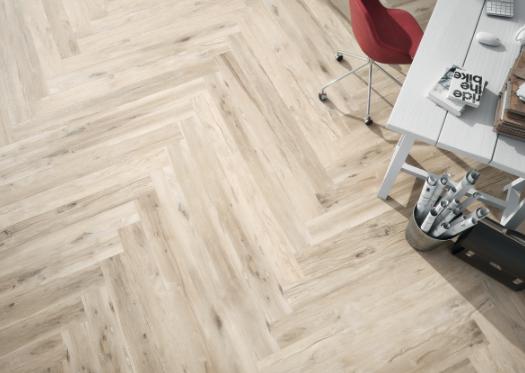 ceramique imitation bois pale bianco plank bureau