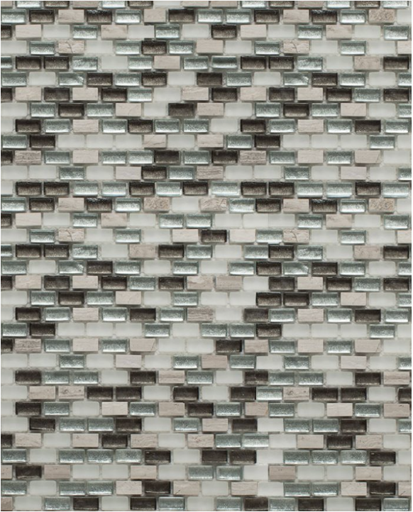 La Tuilerie Rive-Nord ceramique mur brique verre minibrick
