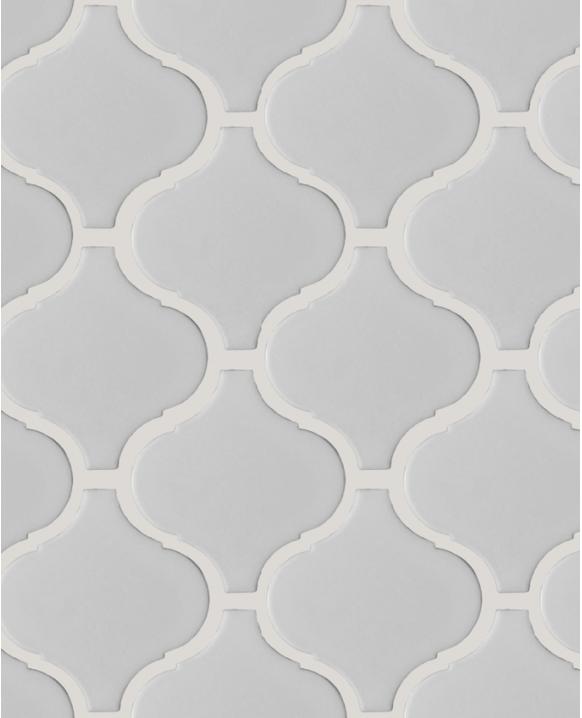 La Tuilerie Rive-Nord ceramique mur arabesque