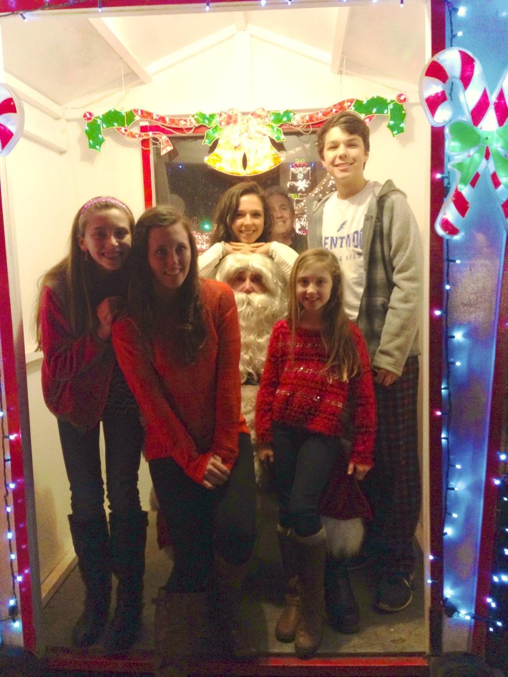We found Santa!