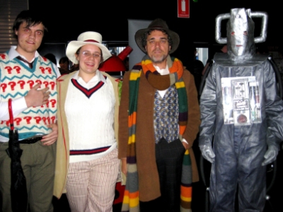 Nov 24 - Our 50th anniversary Dr Who event at The Palace East End Cinema. Some of the cool characters in our costume competition as part of our event!