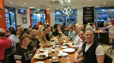 Nov 28 - A fantastic evening at our annual Christmas function at Bocelli Restaurant in Adelaide!