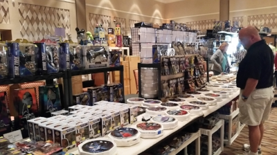 For the collector of Star Trek memorabilia, there are a vast array of quality products to choose from at the convention!