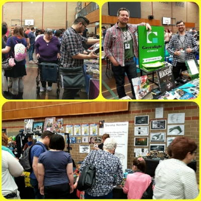 There was much interest in our expo stand at The Adelaide Comic Convention today!