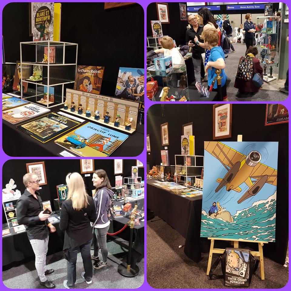 Stuart A Blair Exhibition of la bande dessinée 2018.jpg