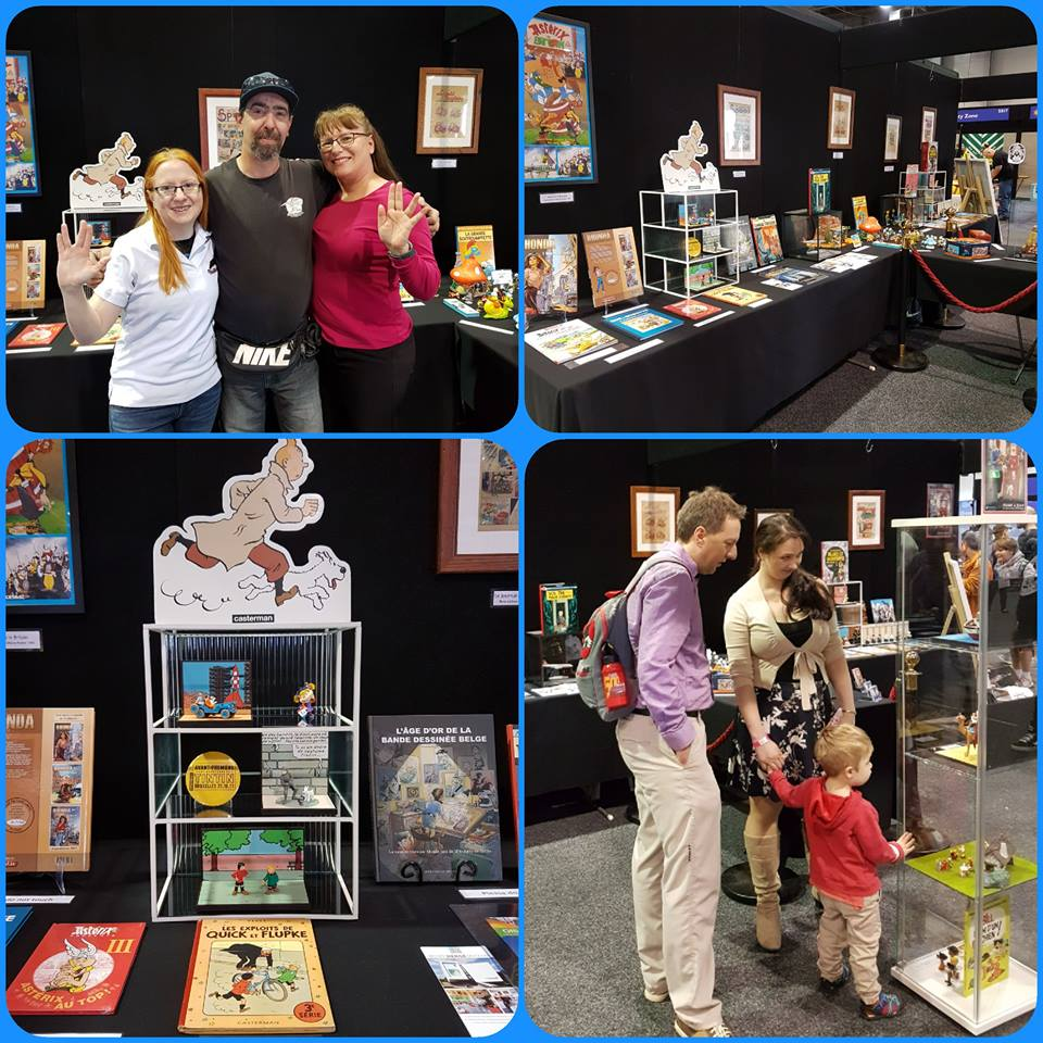November 2 to 4, 2018 we received a booking to curate and present an exhibition of Franco/Belgian comic book literature and memorabilia at Supanova Comic Con and Gaming in Adelaide at the Adelaide Showgrounds. Approx 20,000 visitors attended the event and we enjoyed a steady flow of pop culture fans to the exhibition.