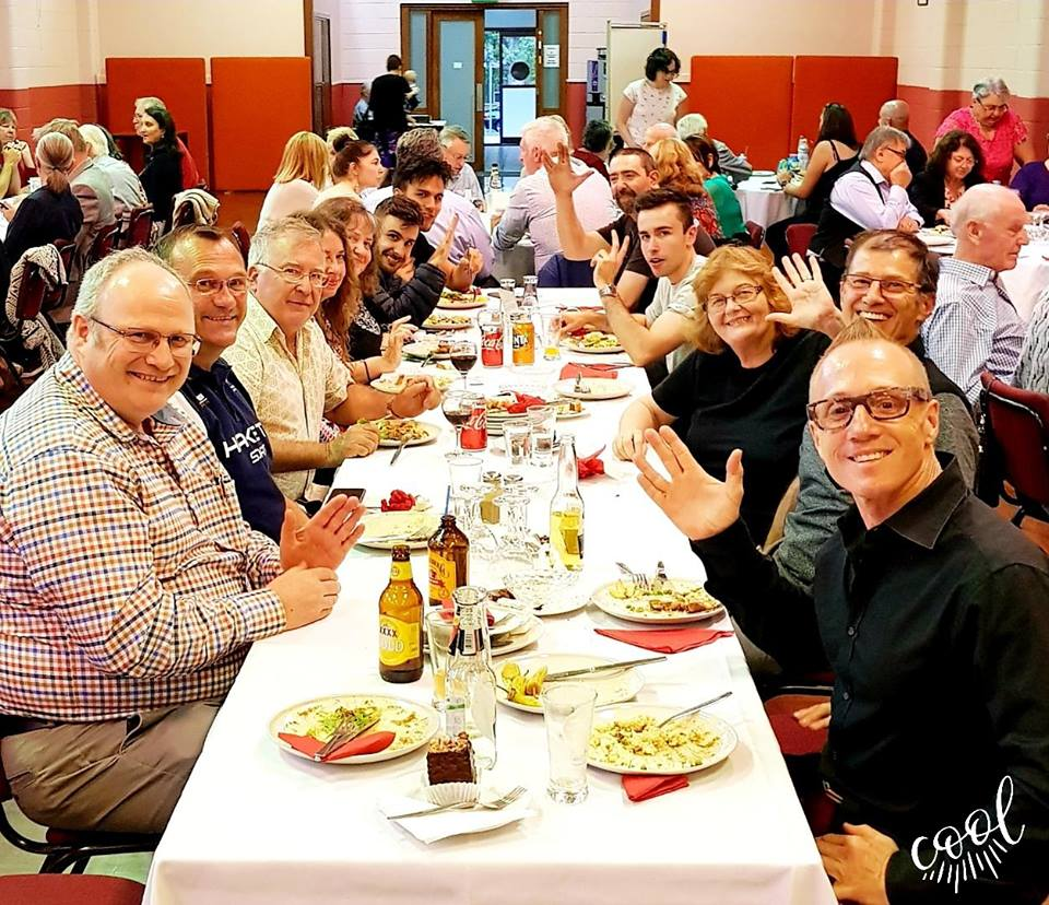 Feb 9, 2019: Our Foodies events are a hoot, and the Hungarian Club in Norwood conducted an all you can eat goulash event with a large array of fine fayre on offer... and we did!  A solid turnout of Mawson Crew!