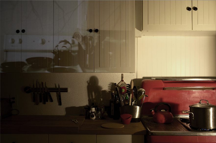 projected past: kitchen