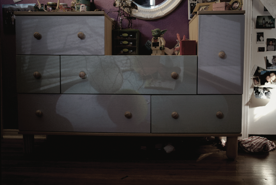 projected past: bedroom