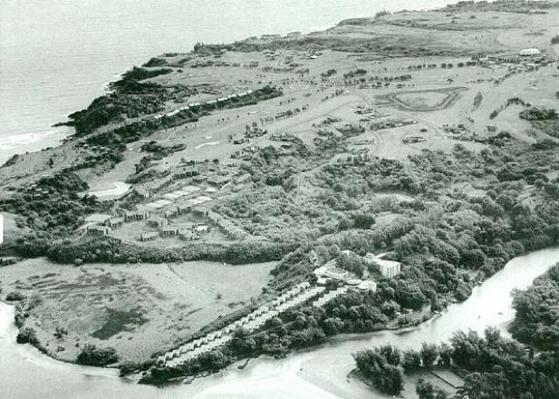 Club-med aerial view
