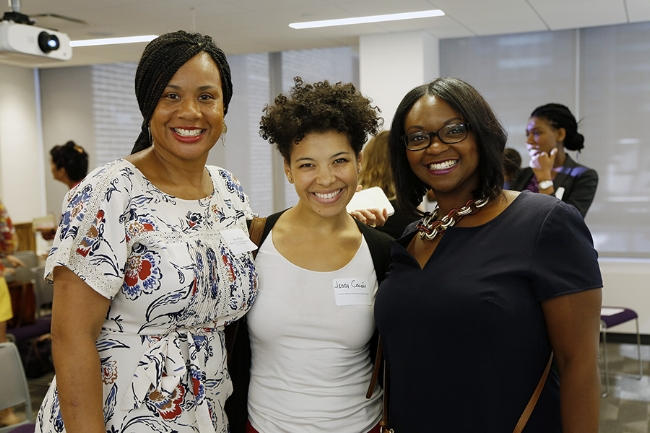 Guests attending a BPM 2016 event in New York City hosted by Sisters in Philanthropy
