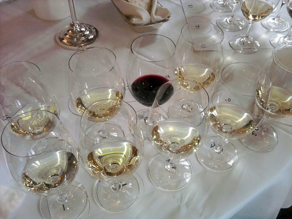 Our Mars, 99.5% Marsanne being judged at the 2011 Seattle Wine awards, in the White Rhone category!