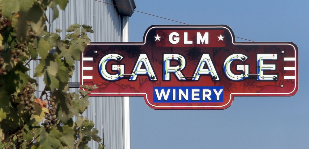 Our winery is in a former garage