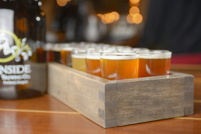 beer tasting trays vibe reclaimed works