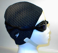 Use an industrial strength swimming cap.