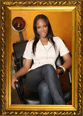 Rochelle Thomas - Master Stylist and Owner of Maison De' Modele' salon boutique.  Photo by: Doss Tidwell