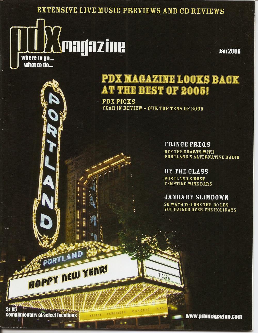 PDX Magazine, Jan '06
