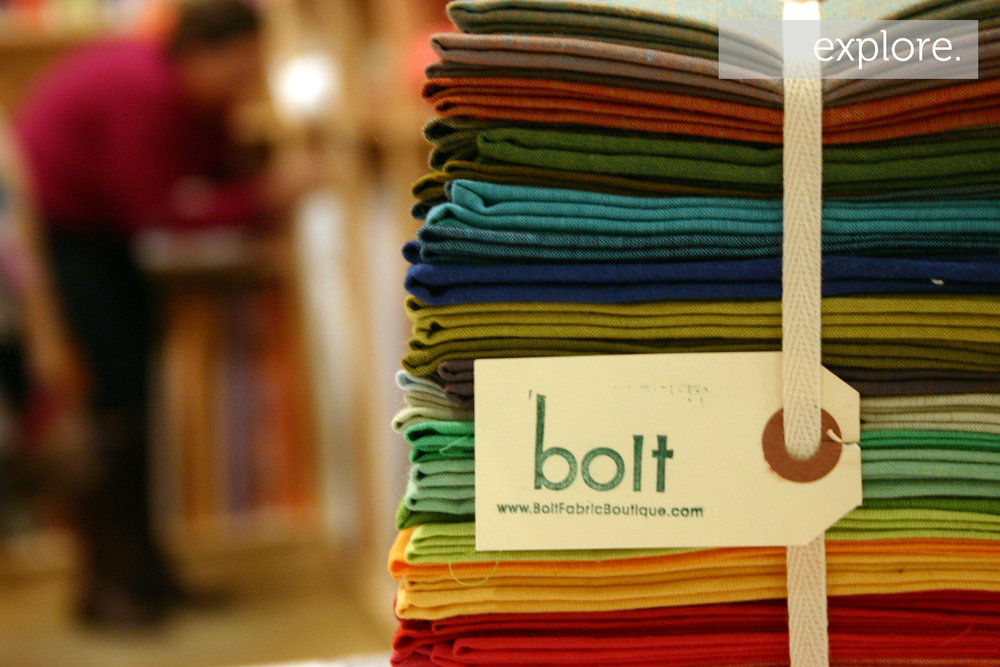 Bolt Fabric Boutique Fat Quarters