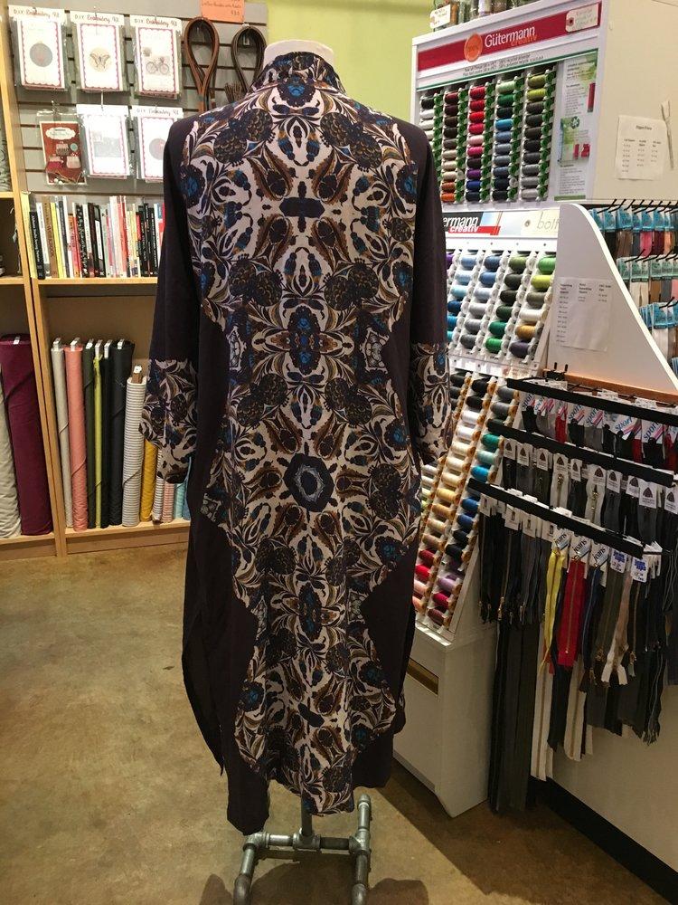 Back view of Kochi Kimono modification