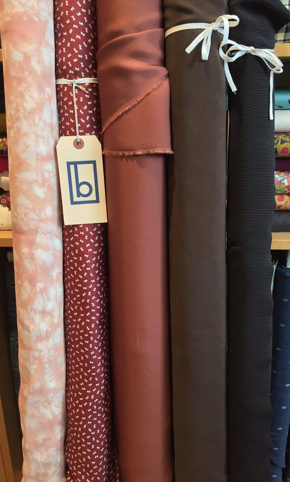 Our silk selection is growing!