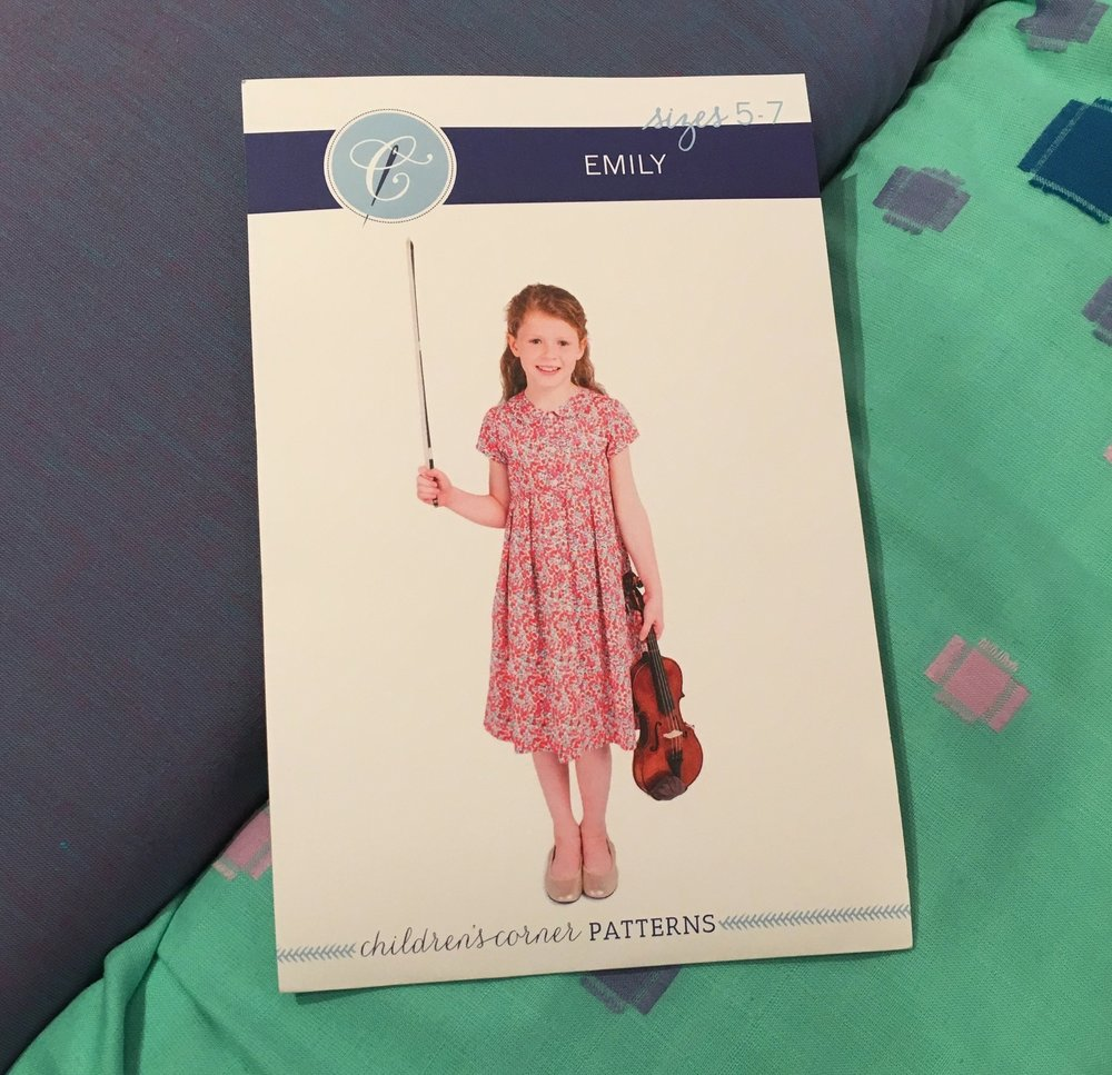 Children's Corner Patters: Emily Dress