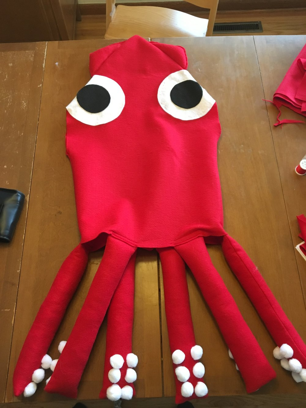 If you need a quick and easy Halloween costume Iu0027ve got one word for you - felt. I recently whipped up a squid costume (using this tutorial) for my ... & Felt to the Rescue! u2014 Bolt Fabric Boutique | Portland Oregon