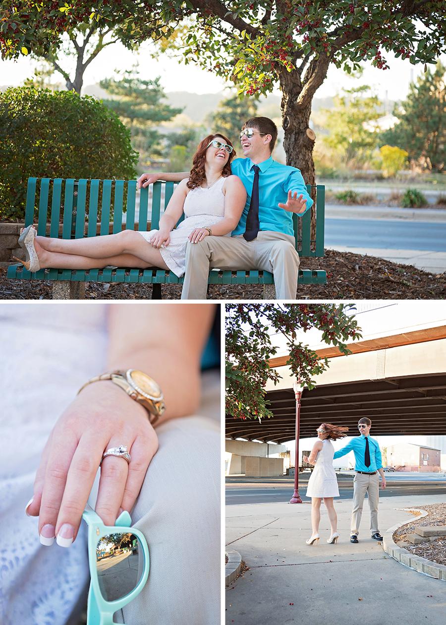 Joshua + Rachel | Fresh and Fun Old Town Mankato Engagement Session | Mankato Wedding Photographer-6