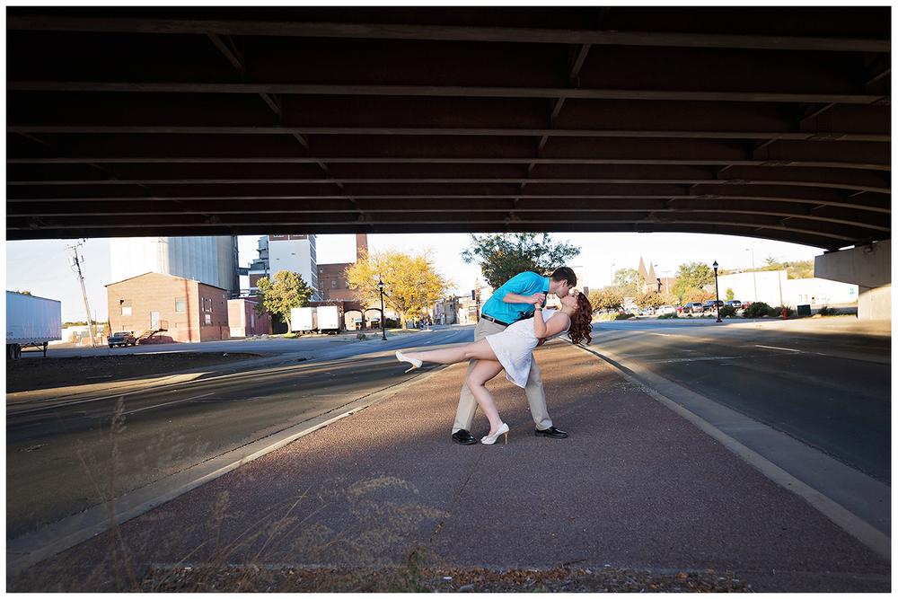 Joshua + Rachel | Fresh and Fun Old Town Mankato Engagement Session | Mankato Wedding Photographer-8