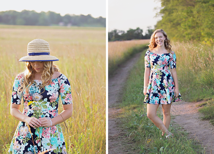 Linnaeus Arboretum Gustavus Adolphous College Senior Session | Intuition Design Photography | Mankato Senior Photographer