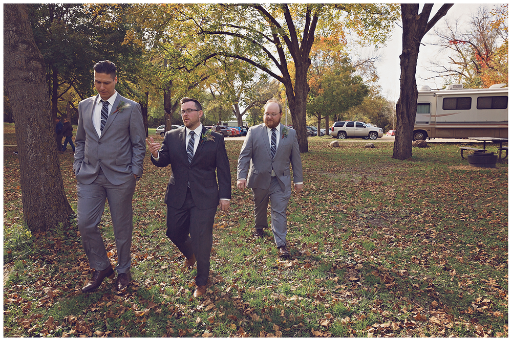 Mankato Wedding Photographer | Minneopa Falls | J.Long | Intuition Weddings by ID Photography