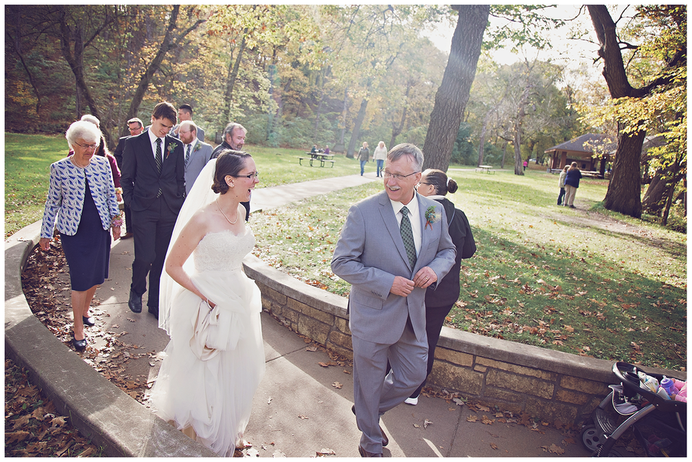 Mankato Wedding Photographer | Minneopa Falls | The Silhouette |  Intuition Weddings by ID Photography