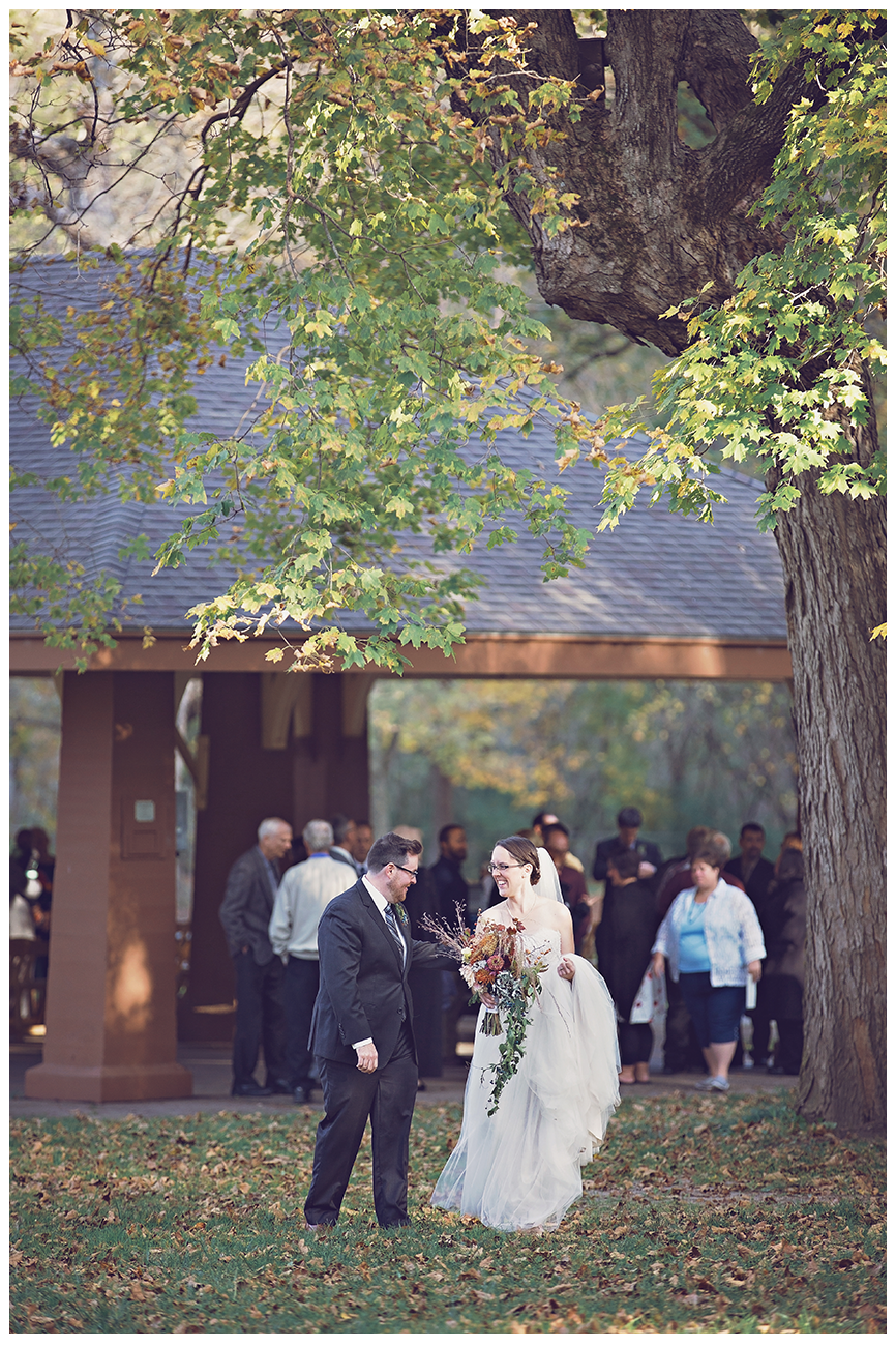 Mankato Wedding Photographer | Minneopa Falls | The Silhouette | Gullywash Gardens | Intuition Weddings by ID Photography