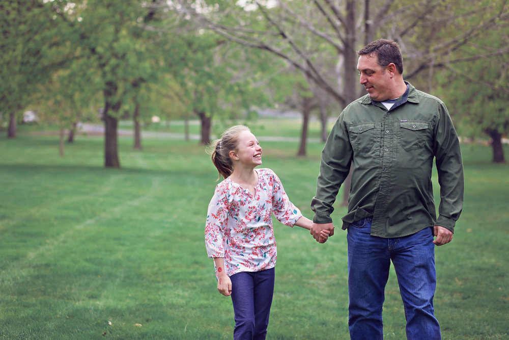 Mankato Family Photographer | ID Photography | Daddy & Me Sessions | Sibley Park