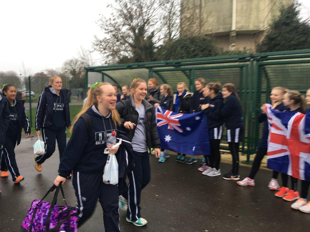 Australia v England