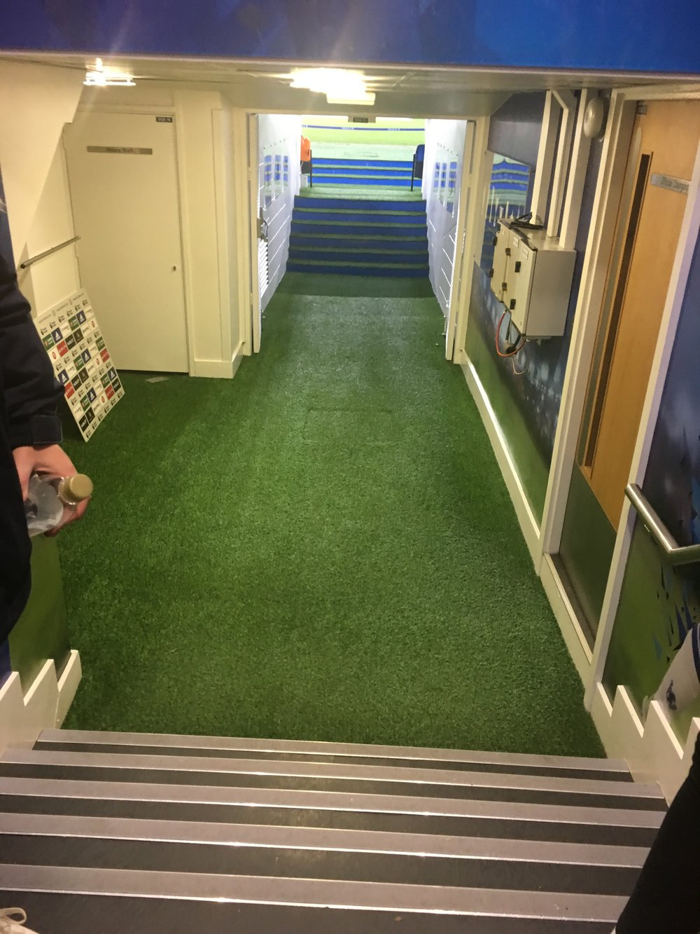 Players tunnel