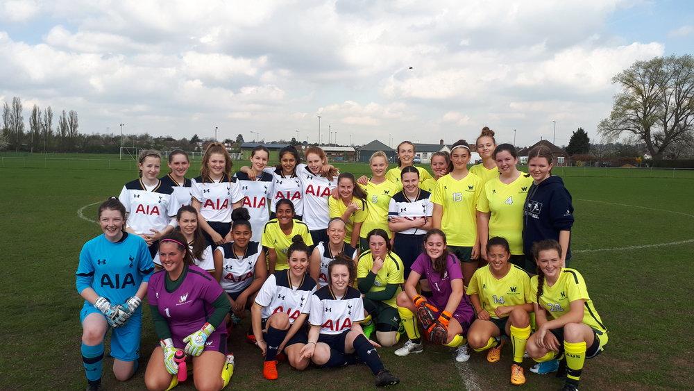 Wanderers Australia V Tottenham April 2017