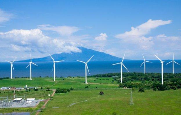 Nica windfarm
