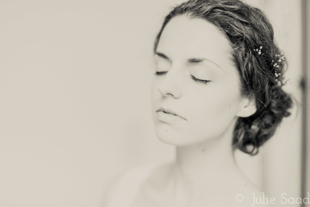 Dramatic Bridal Portrait
