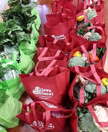Fresh, healthy produce bags ready for delivery across Invercargill.