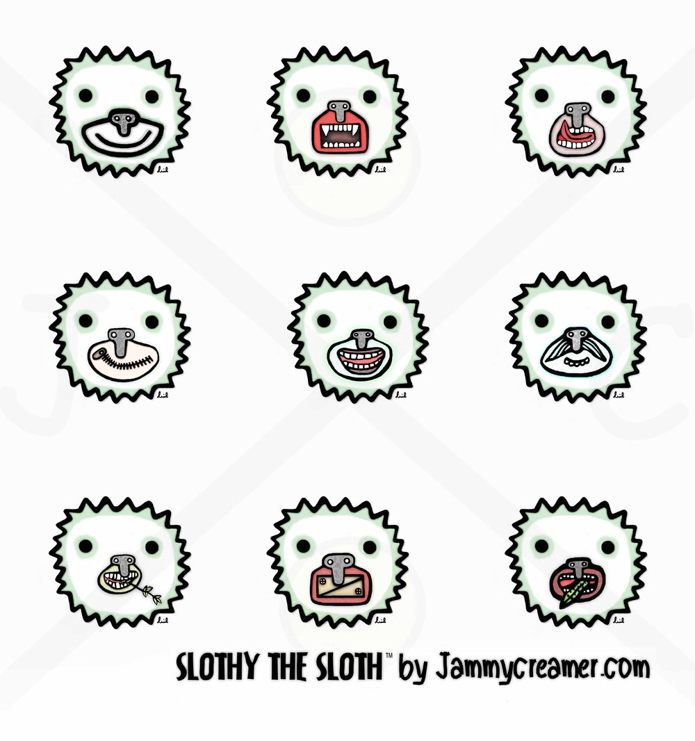 An animated web comic series of over 100 different funny chat stickers and emoticons speak more than just words.